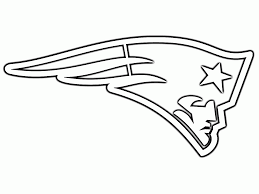 new england patriots coloring page with pages eson me