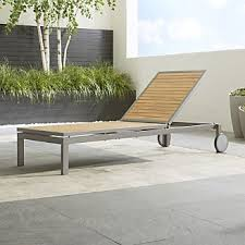Chaise Lounge Outdoor Furniture Outdoor Patio Lounge Furniture Crate And Barrel