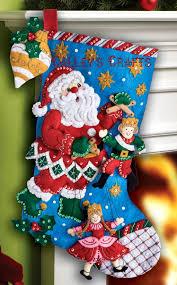 felt christmas kits 216 best bucilla felt christmas images on in