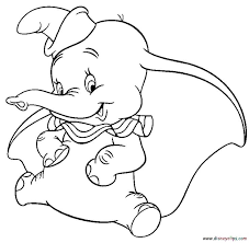 104 disney dumbo coloring pages images