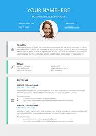 Modern Professional Resume Templates Download Modern Resume Haadyaooverbayresort Com