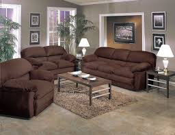 Brown Leather Living Room Set Living Room Decorating Ideas With Brown Leather Furniture How