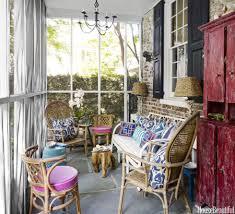 screened porch furniture arrangements