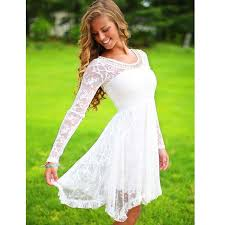 long sleeve lace short homecoming dresses prom dresses cheap