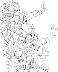 super saiyan goku coloring pages super saiyan goku coloring