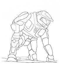 halo coloring pages ay769