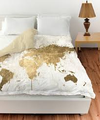 Custom Comforters And Bedspreads Watercolor World Map Custom Bedding Toddler Tw Qu Or By Redbeauty