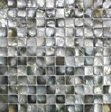 Mother Of Pearl Tiles Bathroom Mother Of Pearl Tile Backsplash Black Shell Mosaic Tiles Mop029