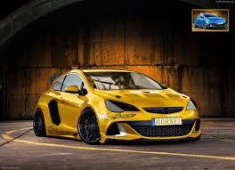 opel yellow opel astra opc 2013 by speedyjayw on deviantart