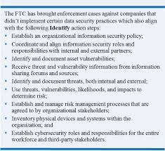 the nist cybersecurity framework and the ftc federal trade