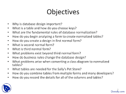 database normalization database management systems lecture