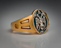 mens rings for sale faberge imperial presentation men s ring feodorovna gold