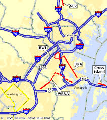washington dc region map washington dc multi use trails