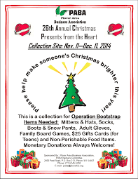 26th annual christmas presents from the heart u2013 community for a cause