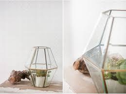 diy faceted hanging terrarium shelterness