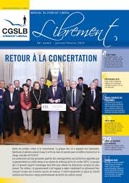 bureau du chomage bruxelles librement janvier février 2015 by aclvb cgslb issuu