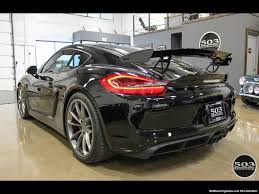 porsche cayman black 2016 porsche cayman gt4 black w full buckets u0026 only 895 miles