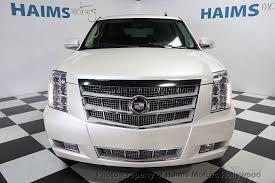 2011 cadillac escalade hybrid 2011 used cadillac escalade platinum hybrid at haims motors