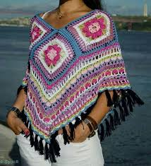 Handmade Poncho - handmade woolen poncho for winter trends for womens