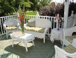 White Wicker Outdoor Patio Furniture White Wicker Outdoor Furniture Patio Sets Optimizing Home Decor
