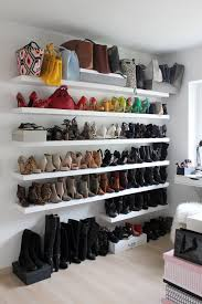homestory mein ankleideraum interior inspiration shoe wall