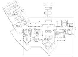rockpoint luxury log home plan