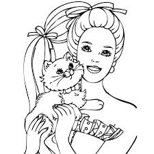 164 dessins de coloriage barbie à imprimer sur laguerche com page 16