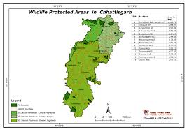 India Regions Map by Maps Of Protected Areas In India