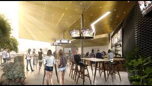 hiivecreative com u2014 hospitality interior design of beer garden bar