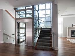 Home Plans With Elevators Residential Glass Elevator Home Elevators Pinterest Glass