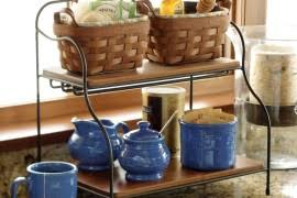 Kitchen Counter Storage Ideas Storage Friendly Accessory Trends For Kitchen Countertops Decor