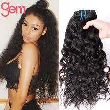 photos of wet and wavy hair 4 bundles brazilian virgin hair water wave cheap brazilian ocean
