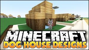 minecraft dog house designs u0026 ideas youtube