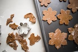 gingerbread snowflake ornaments diy