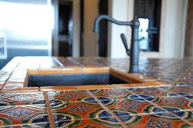Mediterranean Kitchen Tiles - mexican tile mediterranean kitchen austin by clay imports