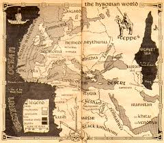 entire middle earth map what are the perceived differences between robert e howard s