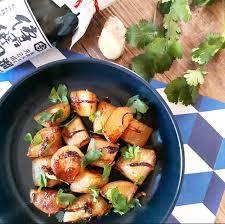 cuisiner le navet navets caramélisés à la sauce soja et au gingembre gratinez