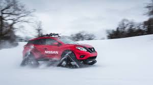 nissan gtr in snow nissan murano winter warrior tracked nissan crossover suv review