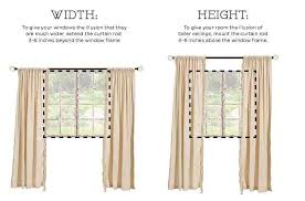 best way to hang curtains how to hang curtains the right way hang curtains window and house