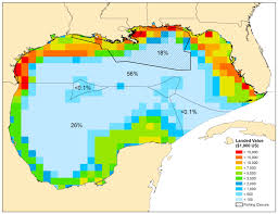 Map Gulf Of Mexico by Gulf Oil Spill Sea Around Us