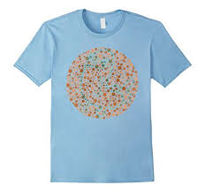 Blue Color Blind Test Amazon Com Dickbutt For Color Blind T Shirt Test Color Blind T