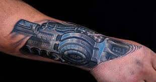biomechanical tattoos and designs page 170