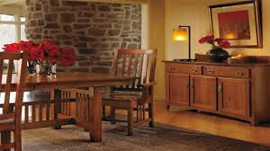 solid wood dining room sets mission style furniture dining room