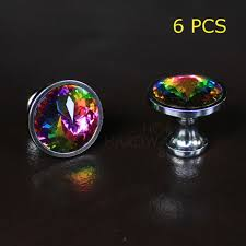 glass cabinet pulls handles 35mm crystal drawer knobs glass cabinet pull handle multi