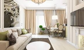luxury small apartment design using soft color and awesome decor