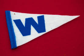 Cubs Flag Chicago Cubs W Pennant