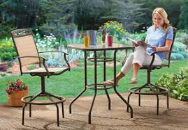 high top patio table and chairs castlecreek bar height patio furniture set 300 209 on patio