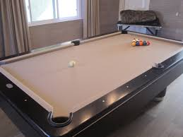 refelting a pool table refelt the pool table top for a more neutral look dream home