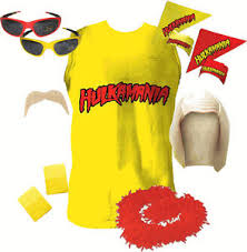 Halloween Costumes Hulk Licensed Hulkamania Hulk Hogan Halloween Costume Ebay