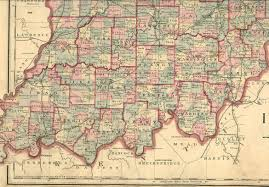 Map Of Southern Ohio by 1880 Maps Of Warrick County